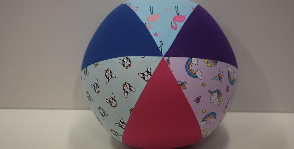 Balloon Ball Large - Dogs Flamingos Unicorns Pink Purple Panels