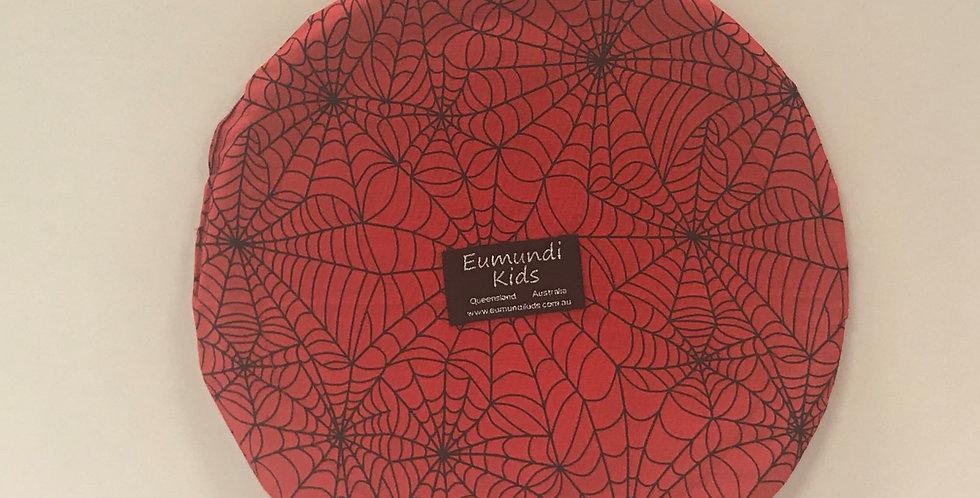 Frisbee - Spiderweb Red Black