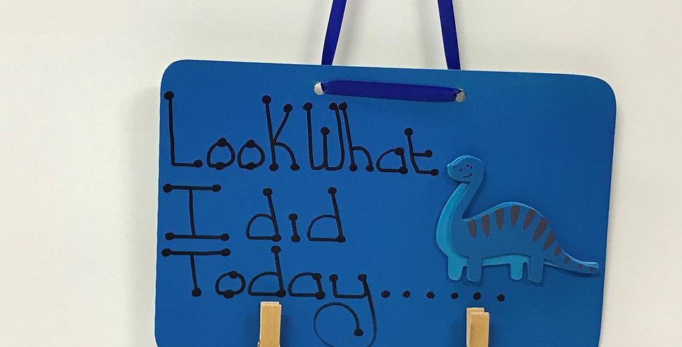 Blue Dinosaur - Blue Board - Blue Ribbon