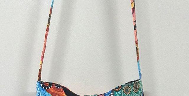 Pocket Bag - Australiana - Black Lining