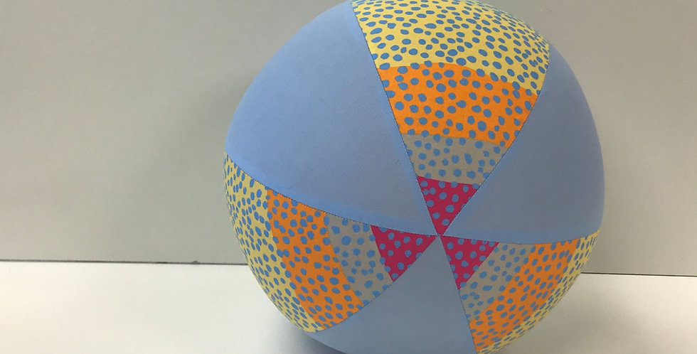 Balloon Ball - Freckles Light Blue Panels