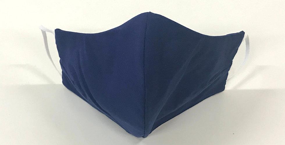 Face Mask - 4 Layers - Dark Blue