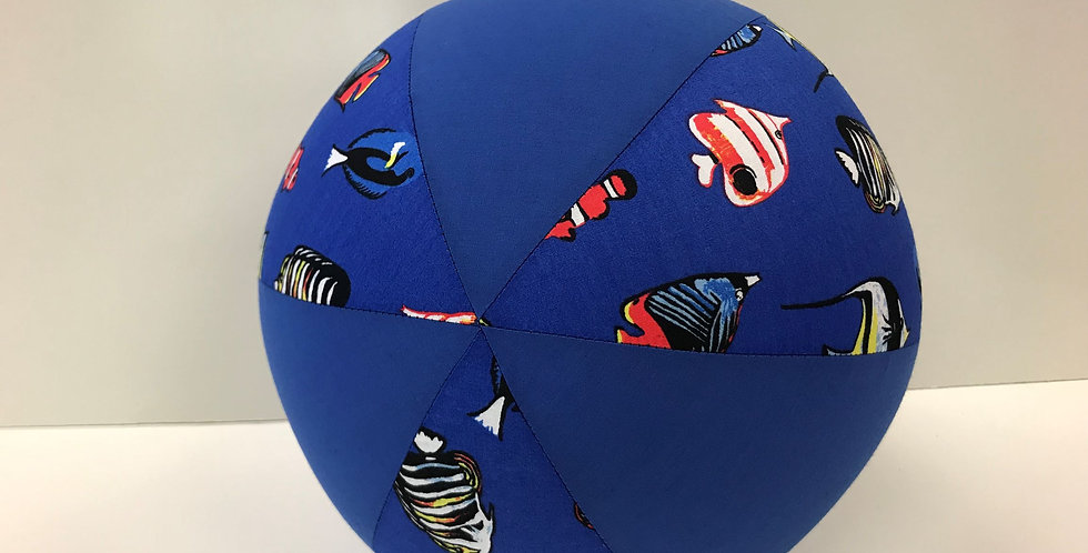Balloon Ball - Tropical Fish with Blue Panels