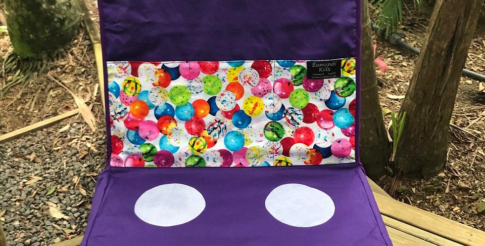 Kids Travel Oven - Purple with Gum balls