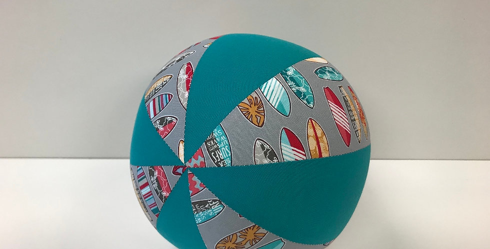 Balloon Ball Medium - Surfboards with Teal Panels