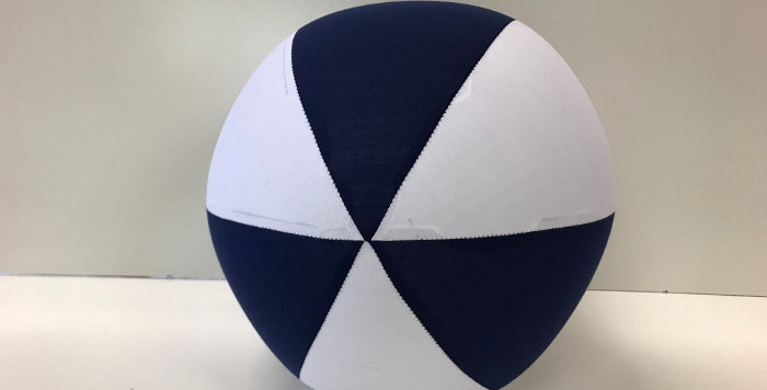 Balloon Ball AFL - Navy Blue White - Geelong Cats
