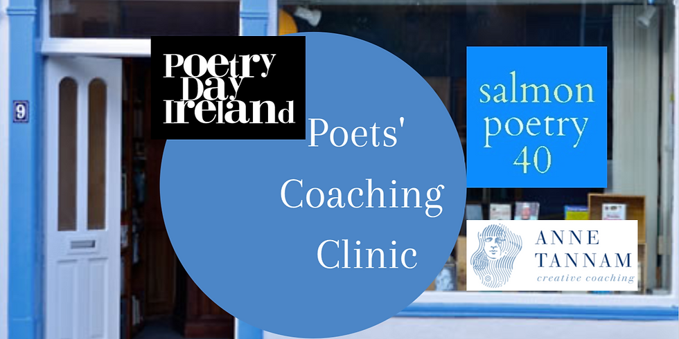 Poetry Day Ireland 2021 Poets' Coaching Clinic
