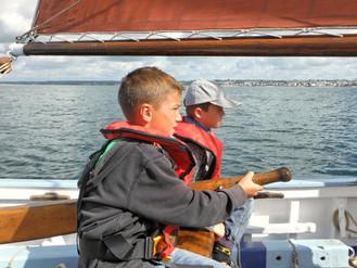 Des capitaines de 10 ans : les jeunes marins de Melgven