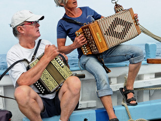Aphorisme maritime JLR7 : de l'accordéon