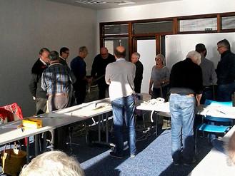 Salle comble au Pôle nautique pour le premier atelier matelotage