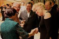 Singapore President Tony Tan and Mrs Tan.