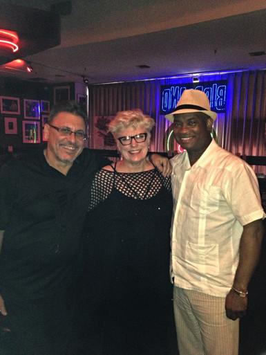 Jerry Weldon, Russel Malone,Birdland gig
