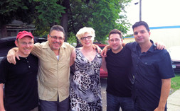 B That Way Band, Bob Sneider, Jerry Weldon,Nancy,.Carmen Intorre, Dino Losito