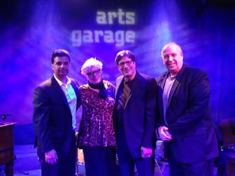 Dino Losito (organ), Steve Luciano (guitar) and Eddie Metz,The Arts Garage, Delray Beach