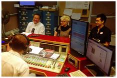 Radio interview in Hong Kong