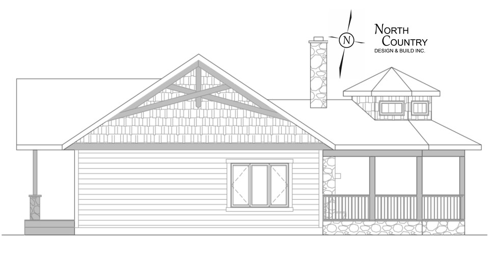 North Country Porch Design 8