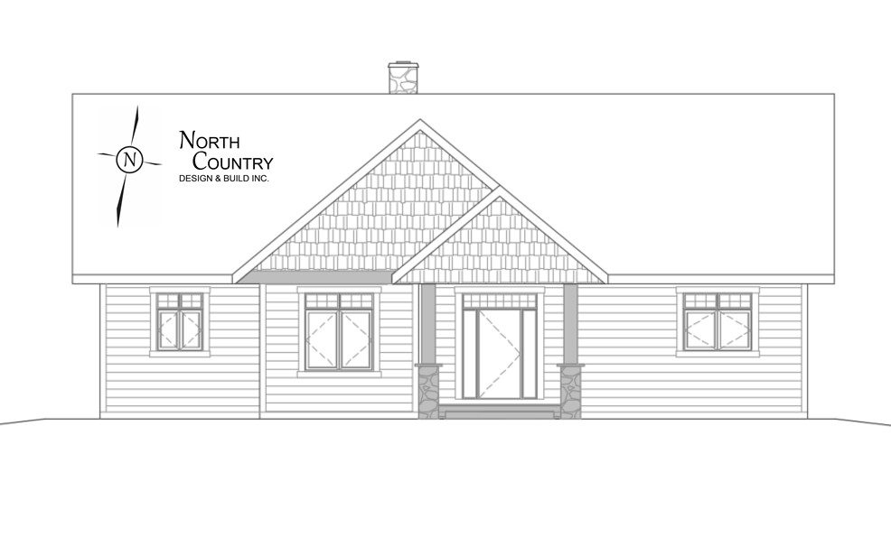 North Country Front Elevation 9