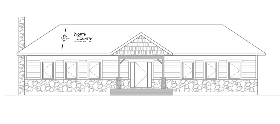 North Country Front Elevation7