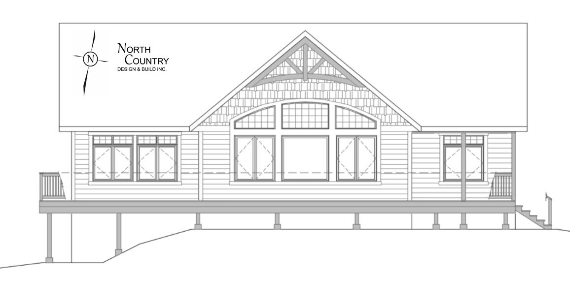 North Country Cottage Elevation