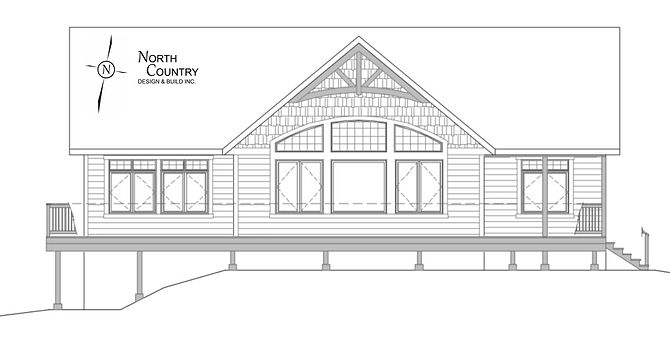 House Plans, Architectural Drawing, North Country Design & Build