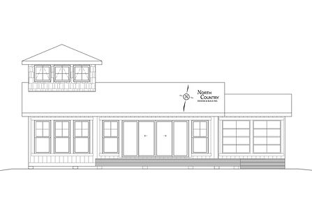 Cabin, Architectural Drawing, North Country Design & Build