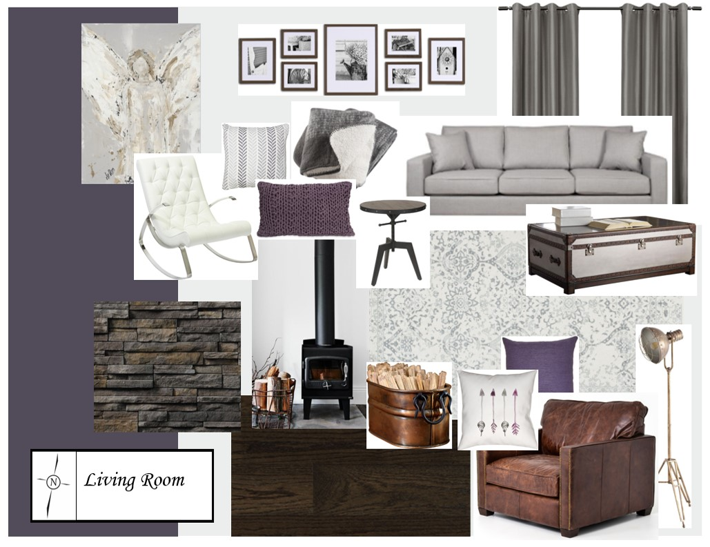 Living Room, North Country Design