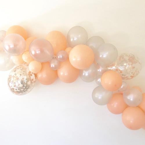 Hugo amp grace balloon garlands