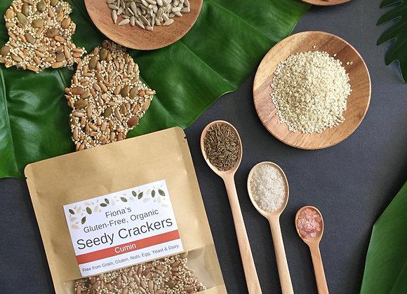 Cumin Organic Seedy Crackers 100g