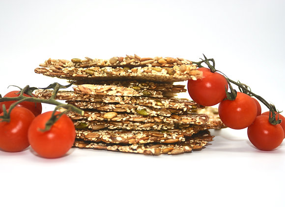 ZERO WASTE Organic Seedy Crackers 100g