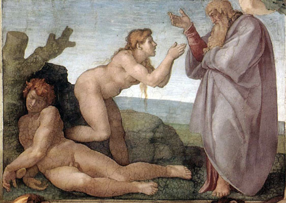 Much Better than Tea! (the Birth of Eve, Michelangelo)