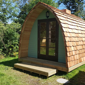 Glamping, Camping & Garden Pods