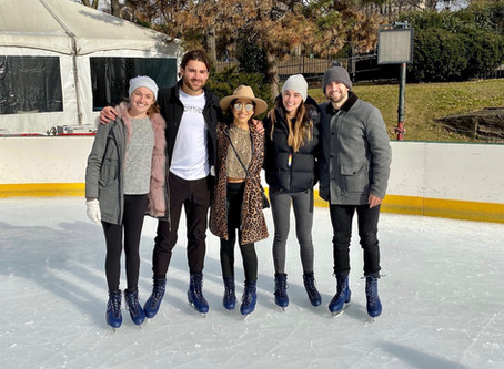 Ice Skating in Central Park kicks off #CityscapeAdventureSeries2020
