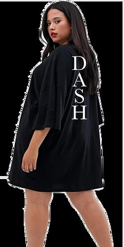 Oversized DASH T-Shirt Dress