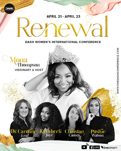 2021 Dash Int'l Conference  RENEWAL *NOTE: This is a pick up in store item