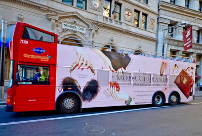Moda Operandi Bus Banner by Mark Glenn