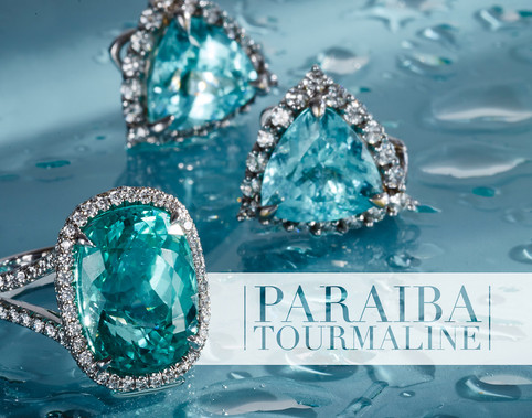 Paraiba Jewelry Advertising Photography by Mark Glenn