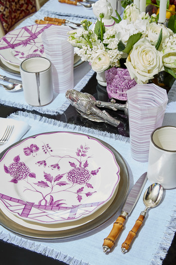 Luxury Table Settings Advertising Photography by Mark Glenn