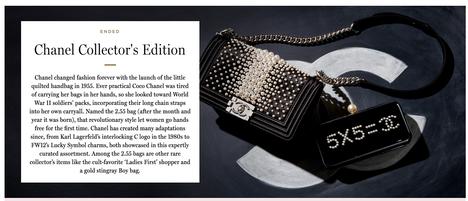 Chanel Advertising Photography by Mark Glenn
