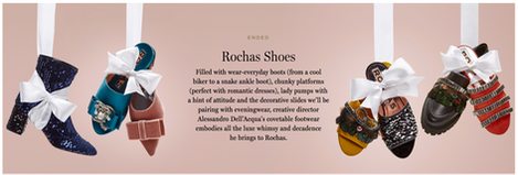 Rochas Shoes Advertising Photography by Mark Glenn
