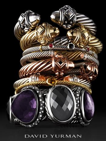 David Yurman Jewelry Advertising Photography by Mark Glenn