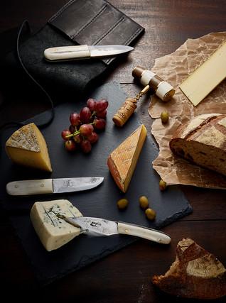 Poglia Knives Advertising Photography by Mark Glenn