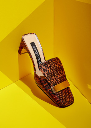Sergio Rossi Shoes Advertising Photography by Mark Glenn