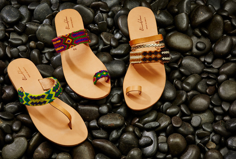 Elina Lebessi Shoes Advertising Photography by Mark Glenn
