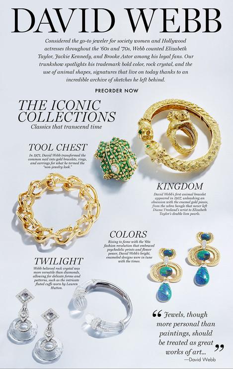 David Webb Jewelry Advertising Photography by Mark Glenn
