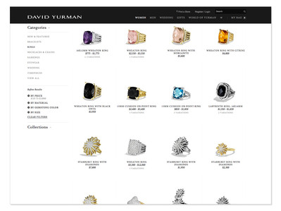 David Yurman eCommerce Photography by Mark Glenn