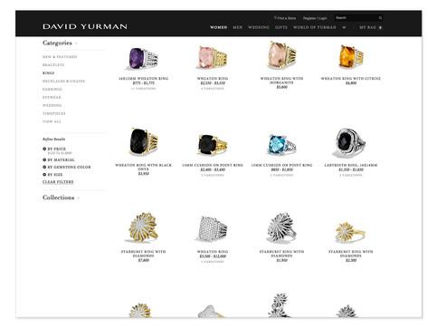 David Yurman eCommerce Photography by Mark Glenn