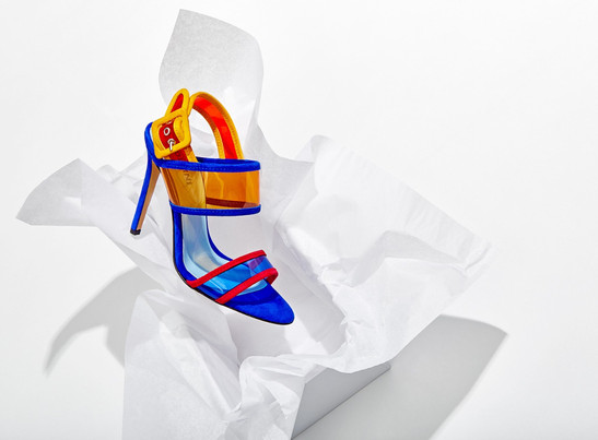 Pollini Shoes Advertising Photography by Mark Glenn
