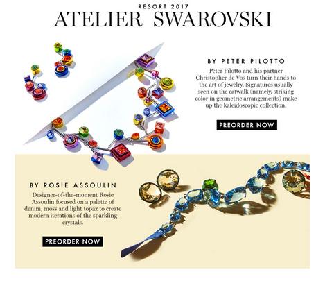 Swarovski Crystal Advertising by Mark Glenn