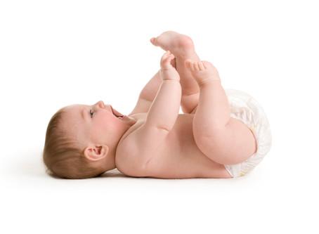 Move like a baby.