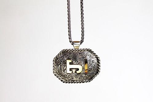 Octagonal Brand Pendant